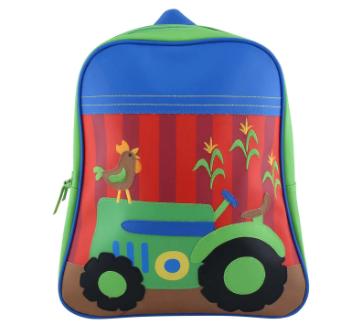 Tas Anak Perempuan Stephen Joseph Go-Go Backpack Tractor
